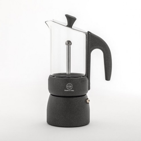 Classic Moka with Glass 3T - E&B LAB