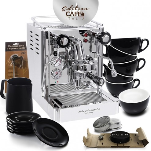 Quick Mill Andreja 0980 & Caffè Italia Kit Edition 3