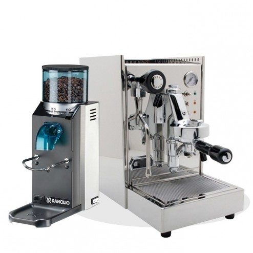 Quick Mill Alexia EVO & Rancilio Rocky SD