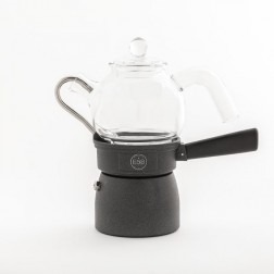 Classic Moka with Glass Server 3T - E&B LAB