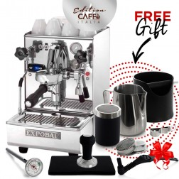 Expobar Brewtus IV Multiboiler Volumetric Pump + FREE Caffè Italia Kit Edition 2