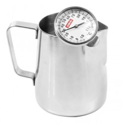 Caffè Italia Milk Pitcher + Milk Thermometer