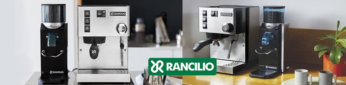 Rancilio Silvia and Ramcilio Rocky SD